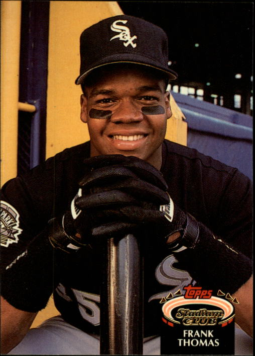 1992 Stadium Club #301 Frank Thomas