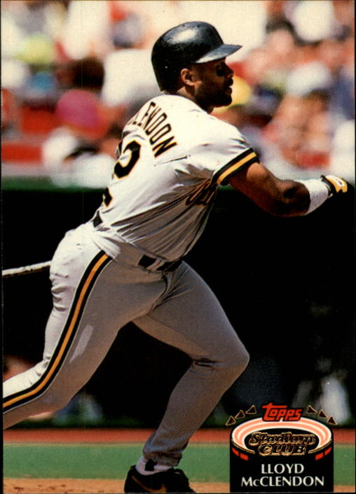 1992 Stadium Club #302 Lloyd McClendon