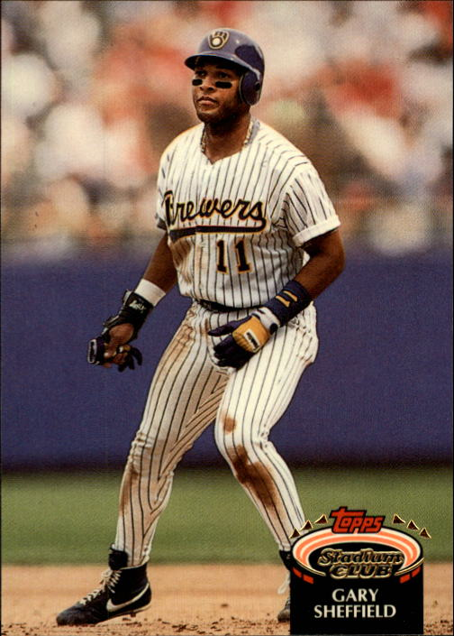 1992 Stadium Club #309 Gary Sheffield UER