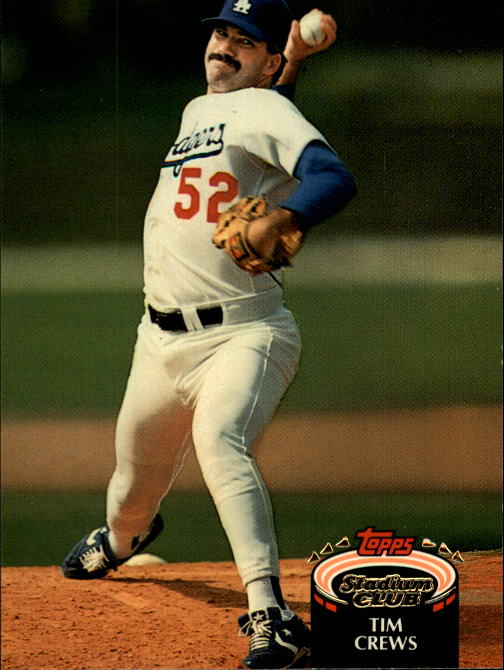 1992 Stadium Club #349 Tim Crews