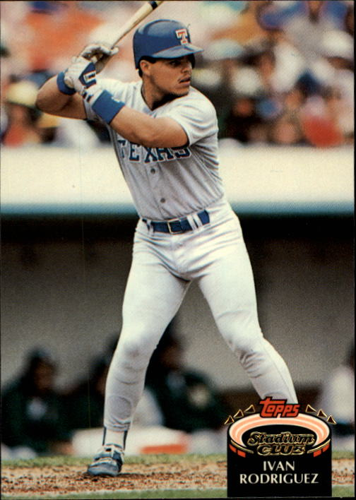 1992 Stadium Club #415 Ivan Rodriguez