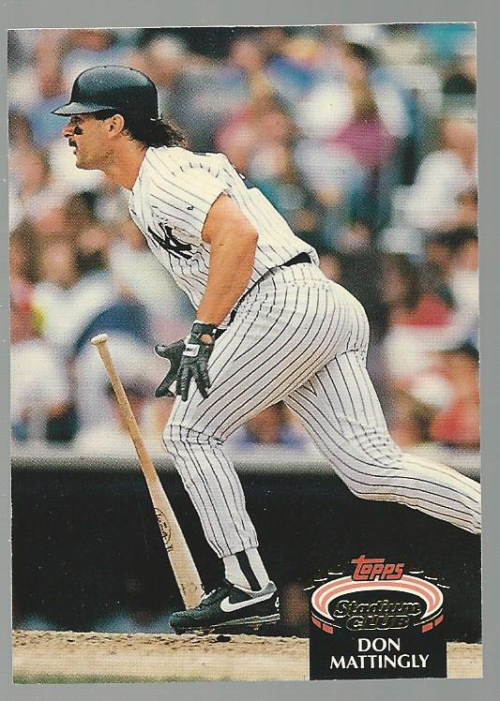 1992 Stadium Club #420 Don Mattingly