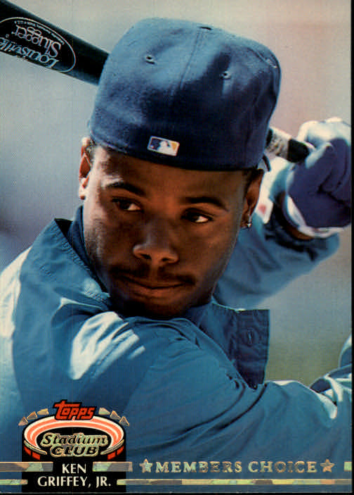 1992 Stadium Club #603 Ken Griffey Jr. MC