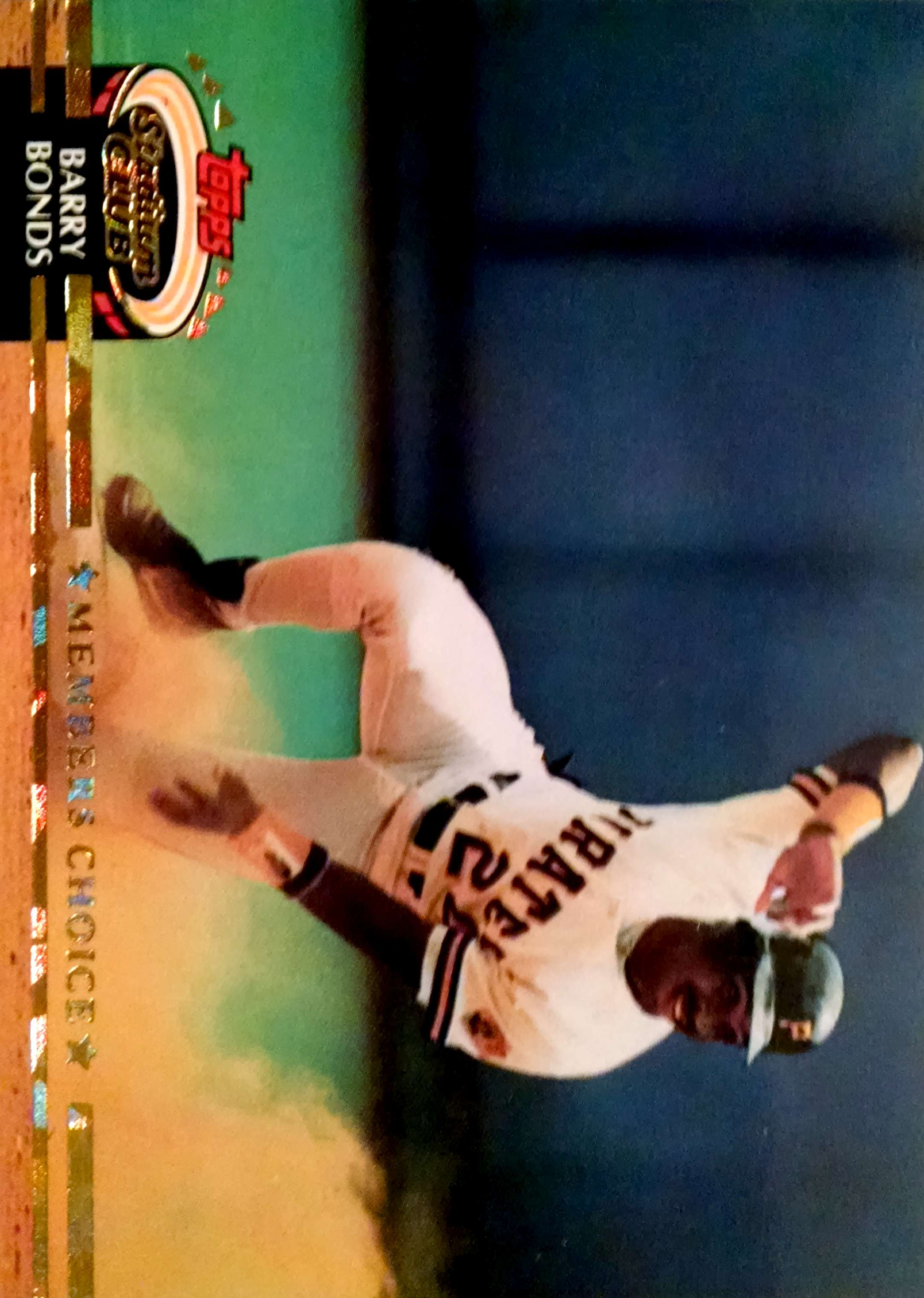 1992 Stadium Club #604 Barry Bonds MC