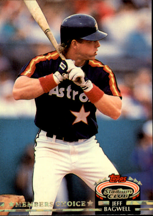 1992 Stadium Club #606 Jeff Bagwell MC