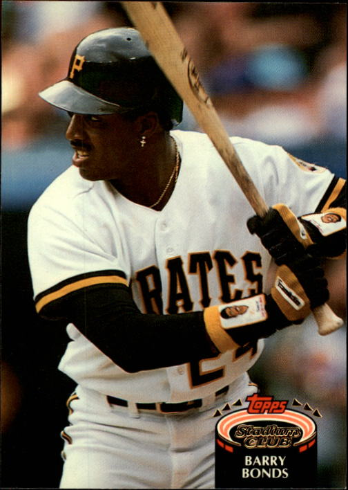 1992 Stadium Club #620 Barry Bonds