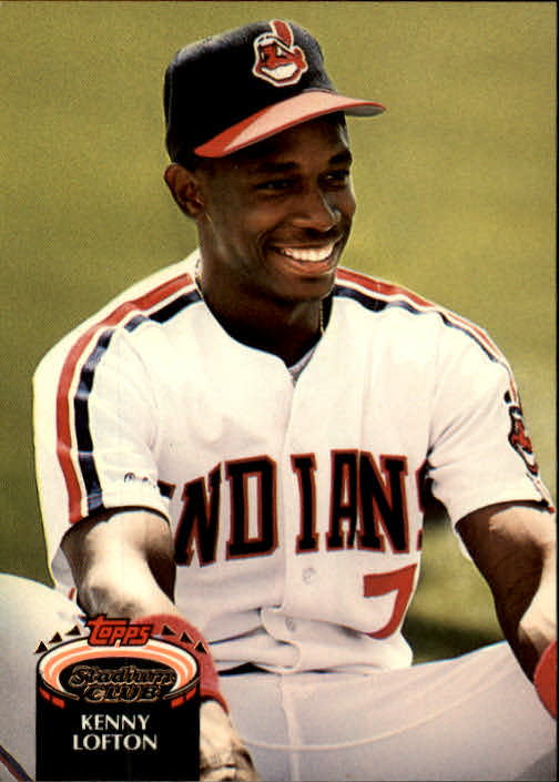 1992 Stadium Club #695 Kenny Lofton