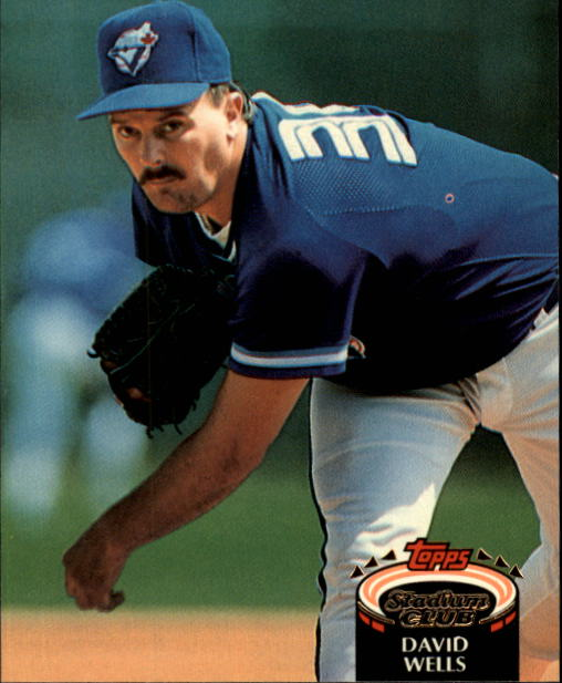 1992 Stadium Club #721 David Wells