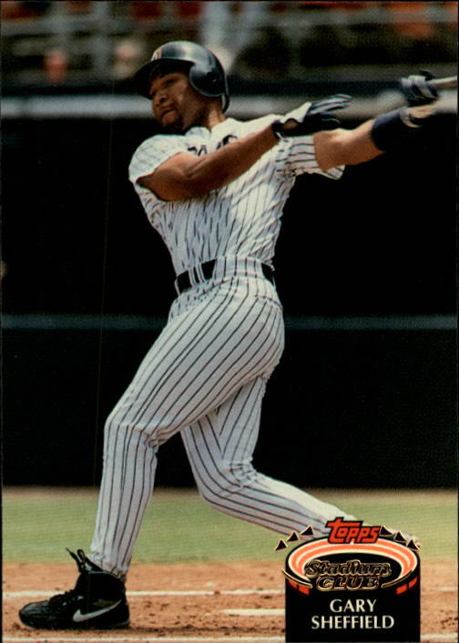 1992 Stadium Club #766 Gary Sheffield