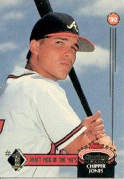 1992 Stadium Club First Draft Picks #1 Chipper Jones