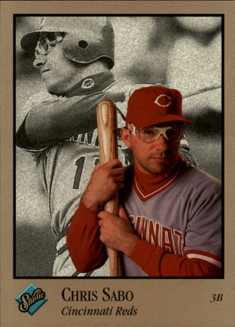 1992 Studio #28 Chris Sabo