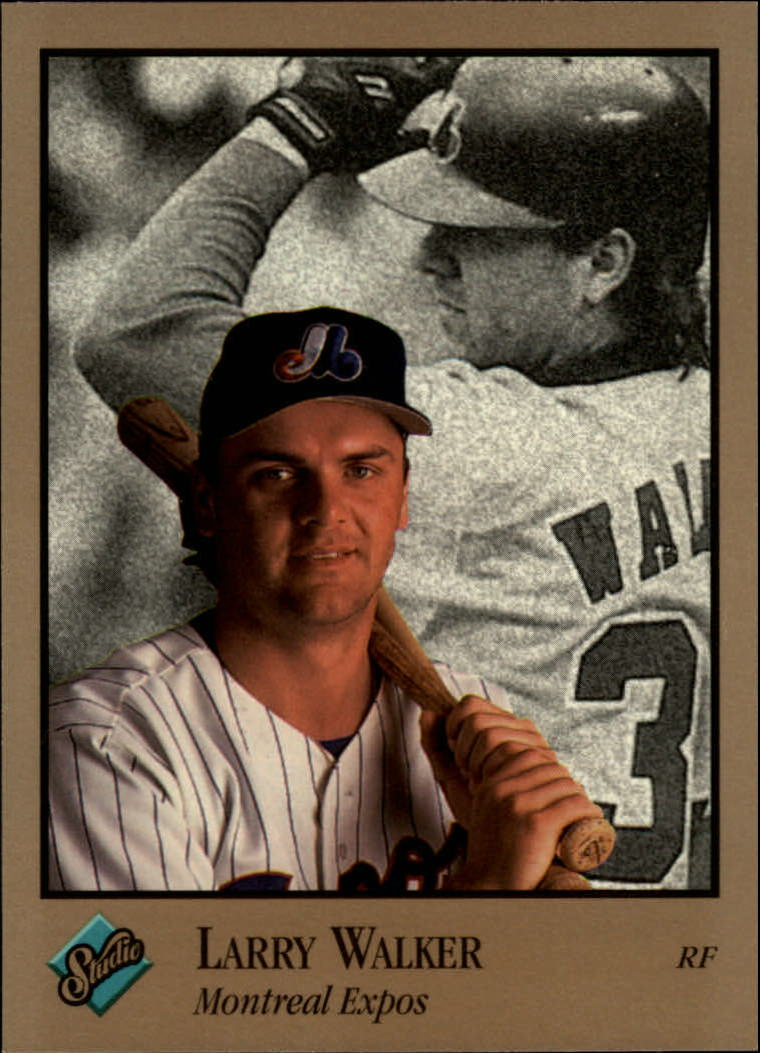 1992 Studio #59 Larry Walker