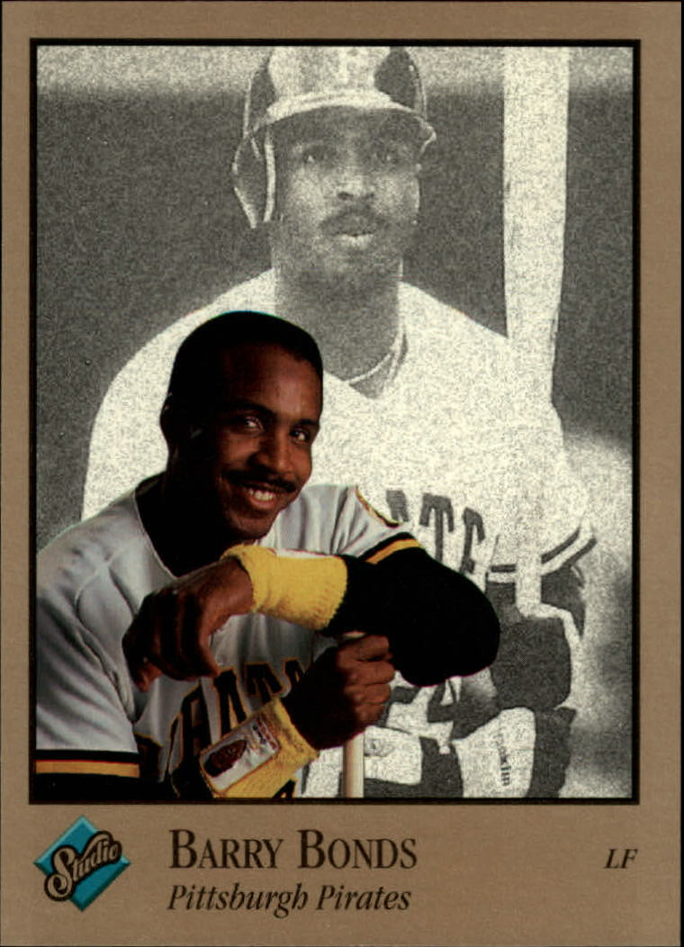 1992 Studio #82 Barry Bonds