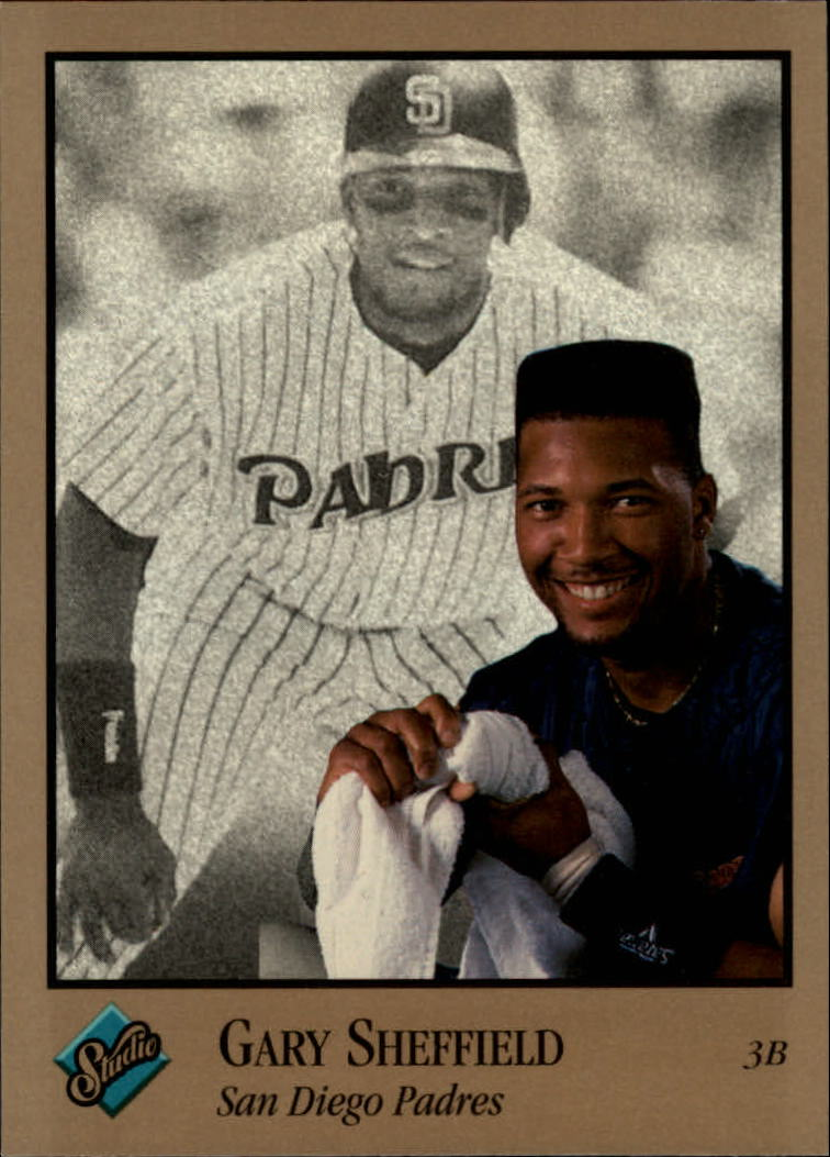 1992 Studio #108 Gary Sheffield