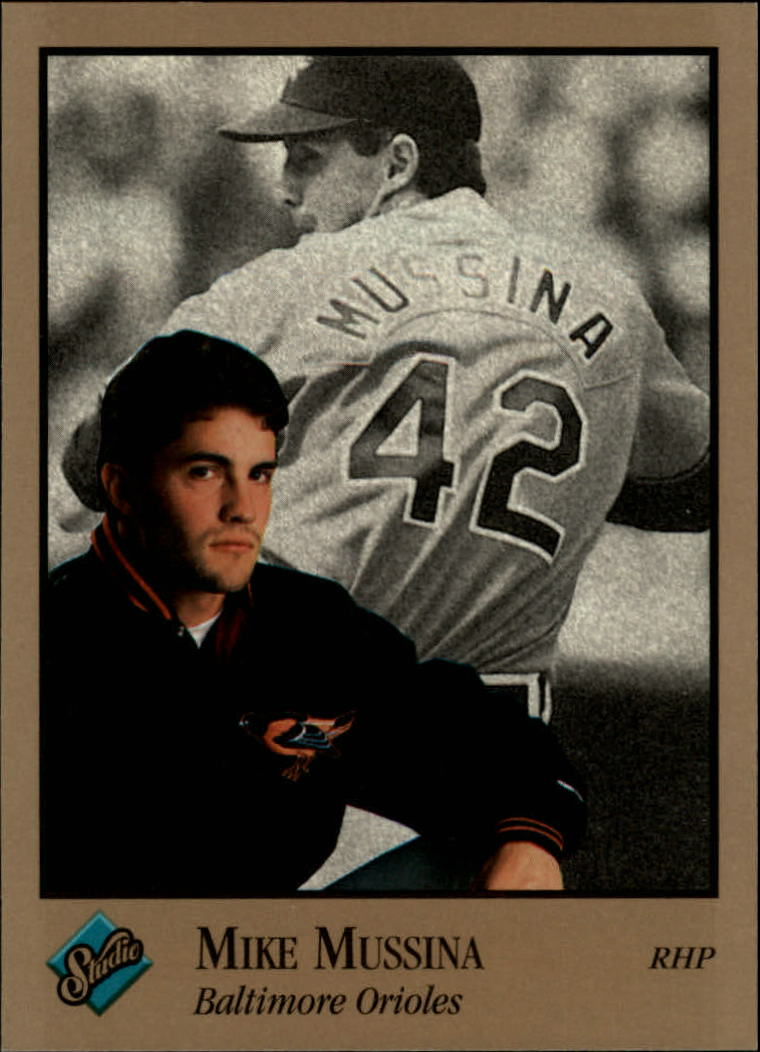 1992 Studio #127 Mike Mussina