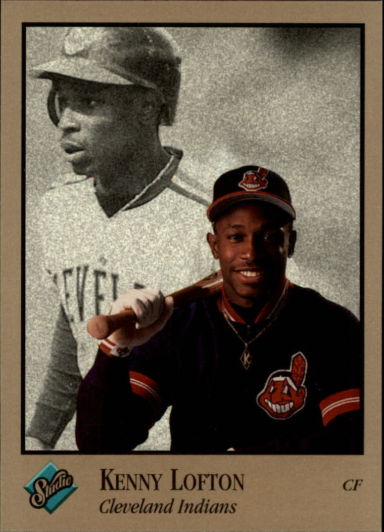 1992 Studio #168 Kenny Lofton