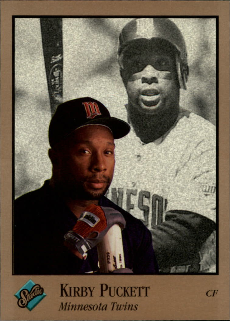 1992 Studio #209 Kirby Puckett