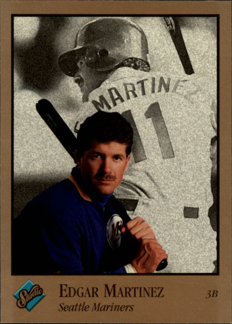 1992 Studio #235 Edgar Martinez