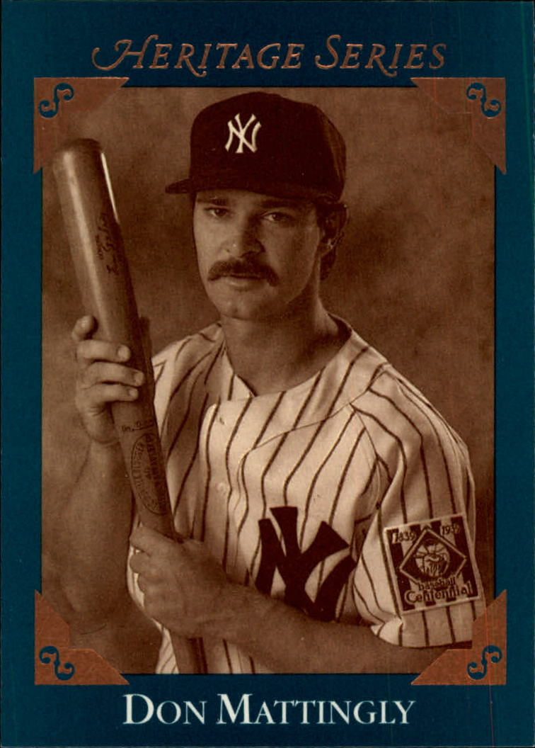1992 Studio Heritage #BC5 Don Mattingly