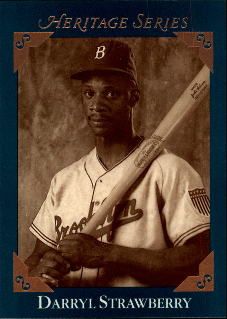 1992 Studio Heritage #BC6 Darryl Strawberry