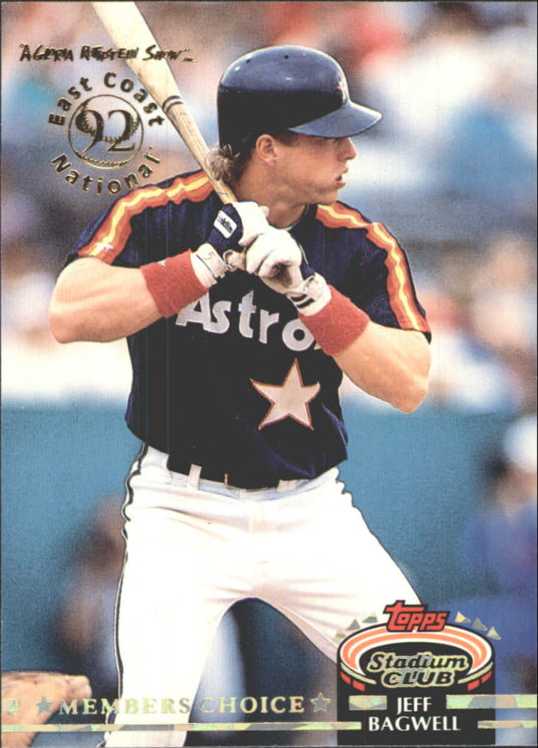 1992 Stadium Club East Coast National #606 Jeff Bagwell MC