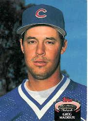 1992 Stadium Club East Coast National #665 Greg Maddux