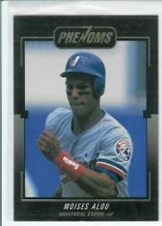 1992 Donruss Rookies Phenoms #BC1 Moises Alou