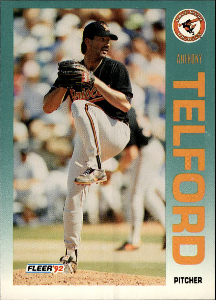 1992 Fleer #29 Anthony Telford