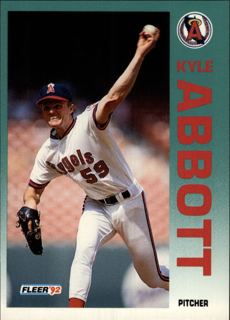 1992 Fleer #51 Kyle Abbott
