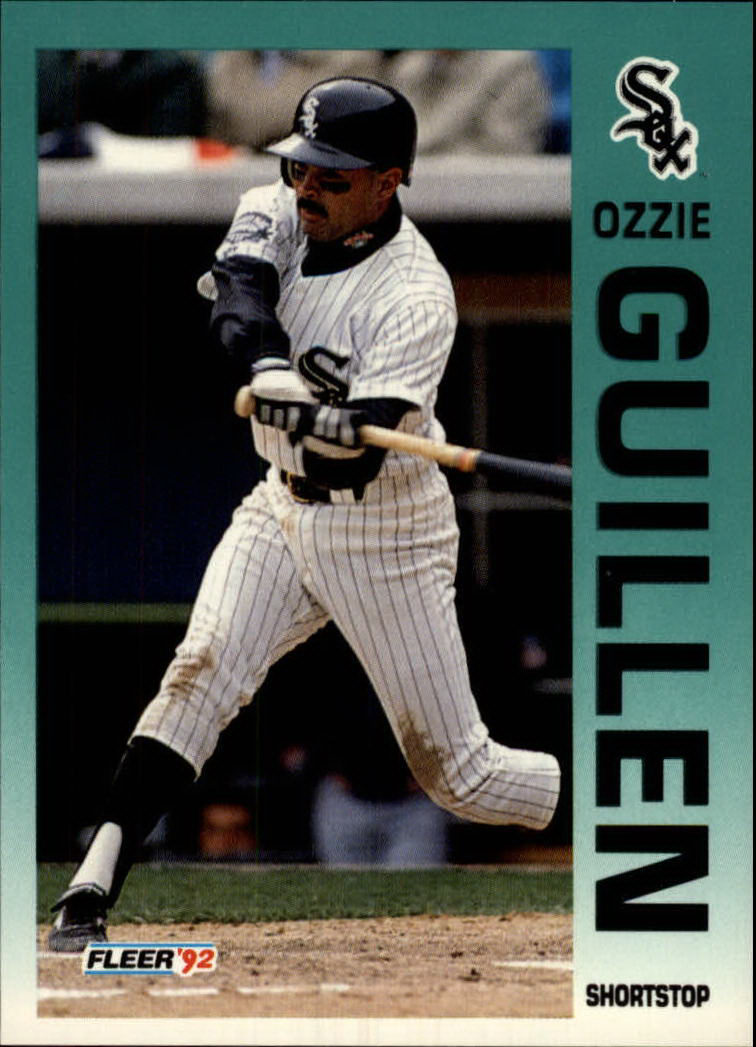 1992 Fleer #82 Ozzie Guillen