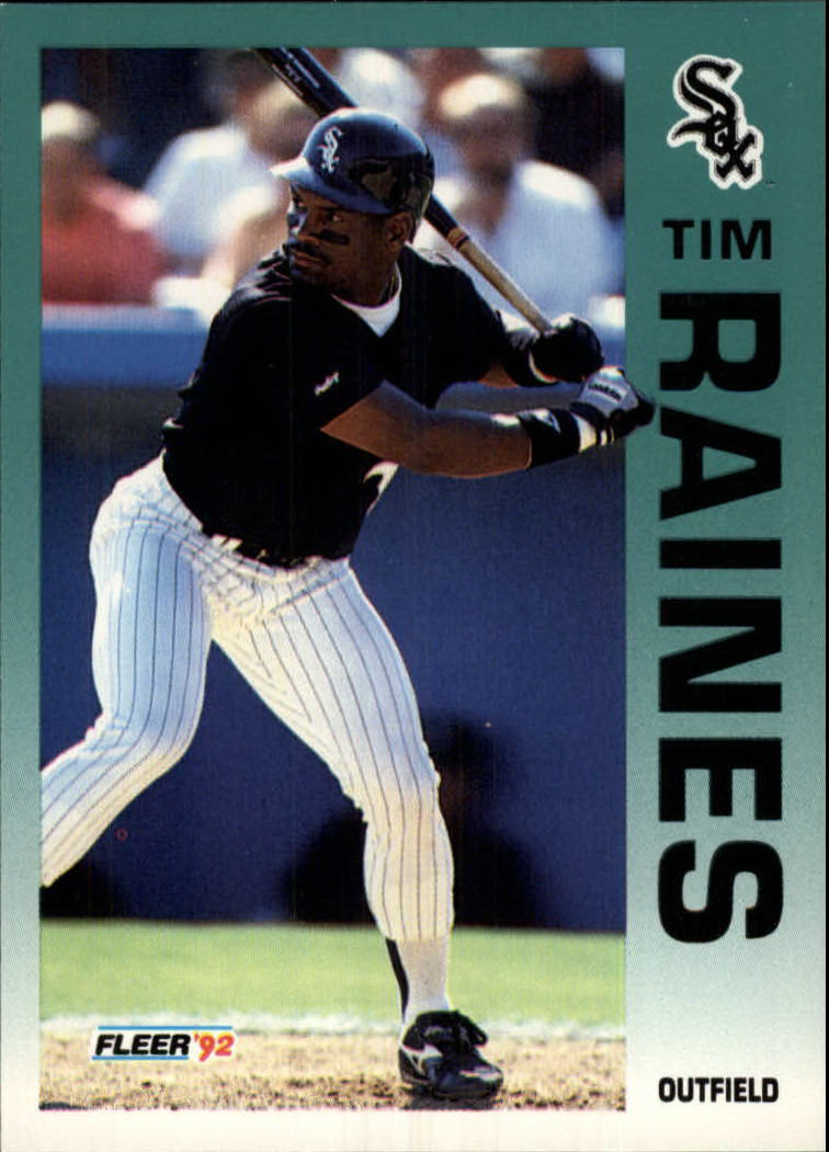 1992 Fleer #97 Tim Raines
