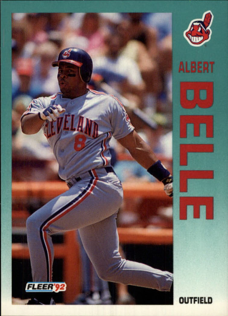 1992 Fleer #105 Albert Belle front image