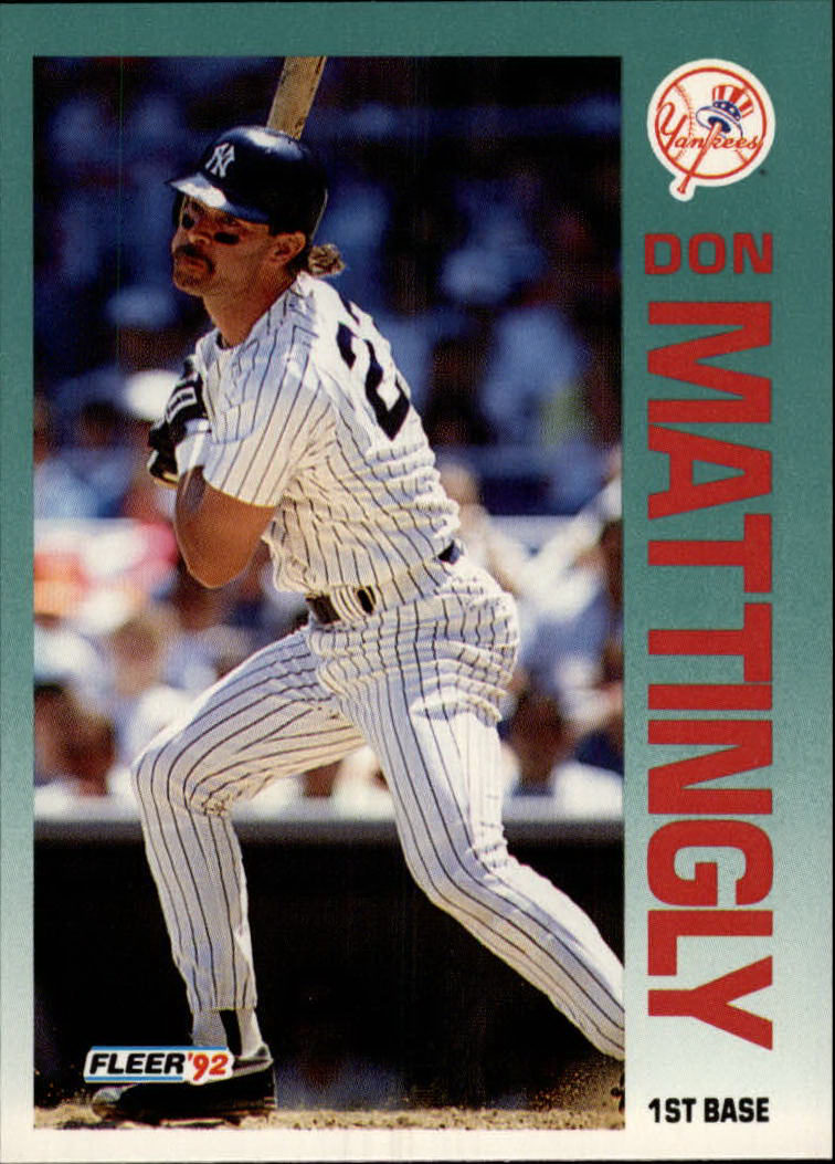 1992 Fleer #237 Don Mattingly