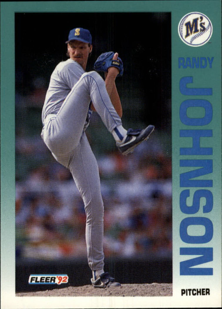 1992 Fleer #283 Randy Johnson