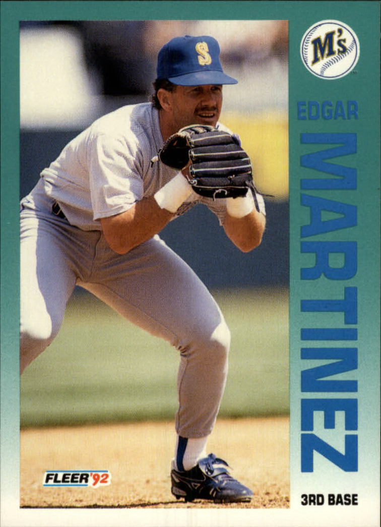 1992 Fleer #286 Edgar Martinez front image