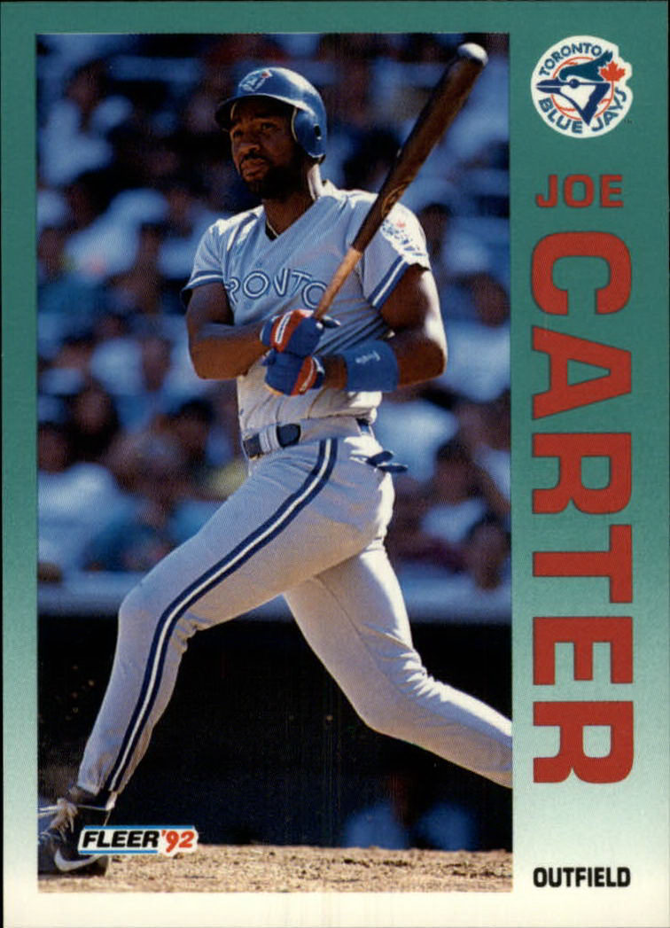 1992 Fleer #327 Joe Carter