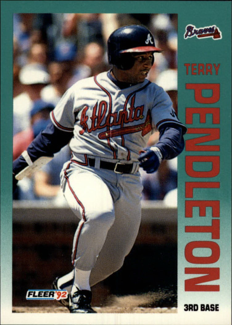 1992 Fleer #366 Terry Pendleton