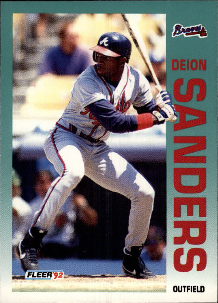 1992 Fleer #368 Deion Sanders