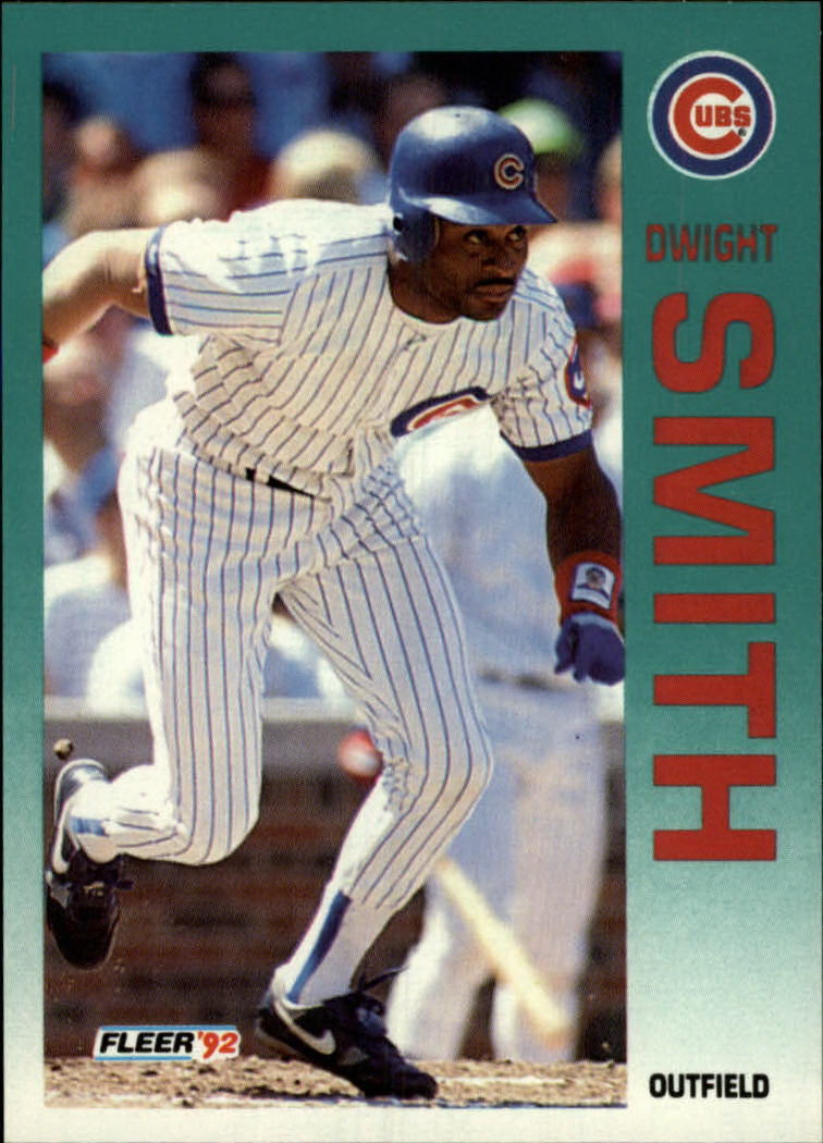 1992 Fleer #392 Dwight Smith
