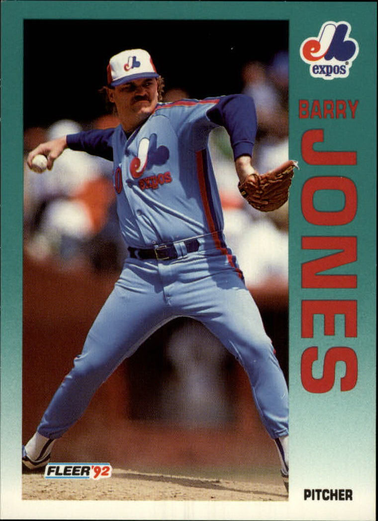 1992 Fleer #484 Barry Jones