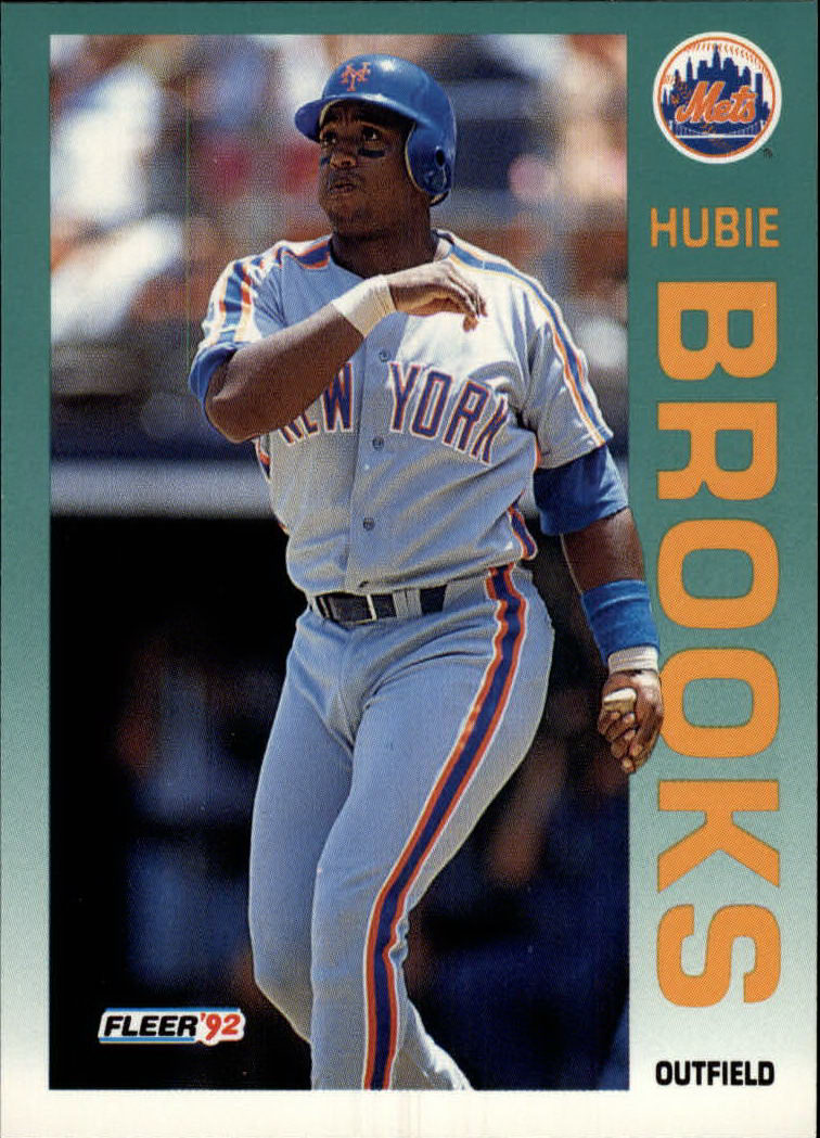1992 Fleer #496 Hubie Brooks