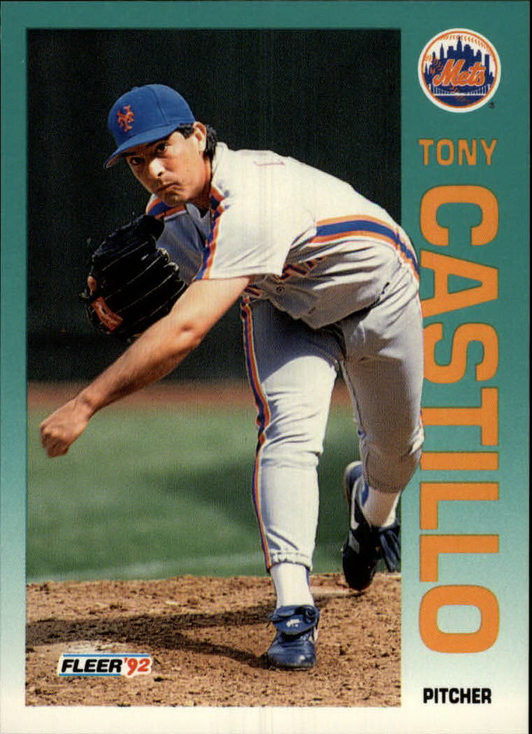1992 Fleer #499 Tony Castillo
