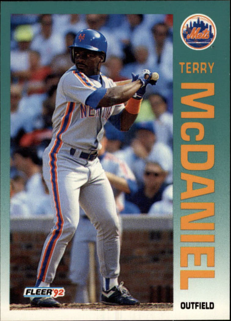1992 Fleer #511 Terry McDaniel