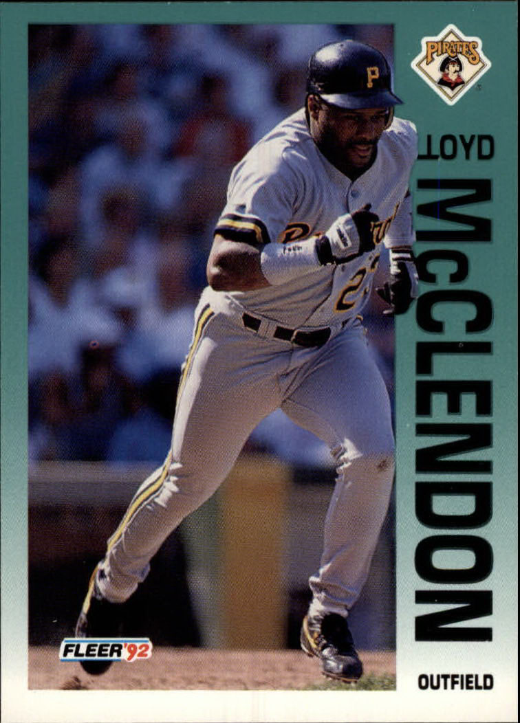 1992 Fleer #560 Lloyd McClendon