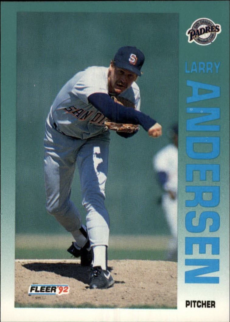 1992 Fleer #597 Larry Andersen