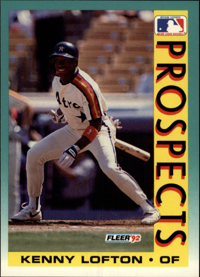 1992 Fleer #655 Kenny Lofton