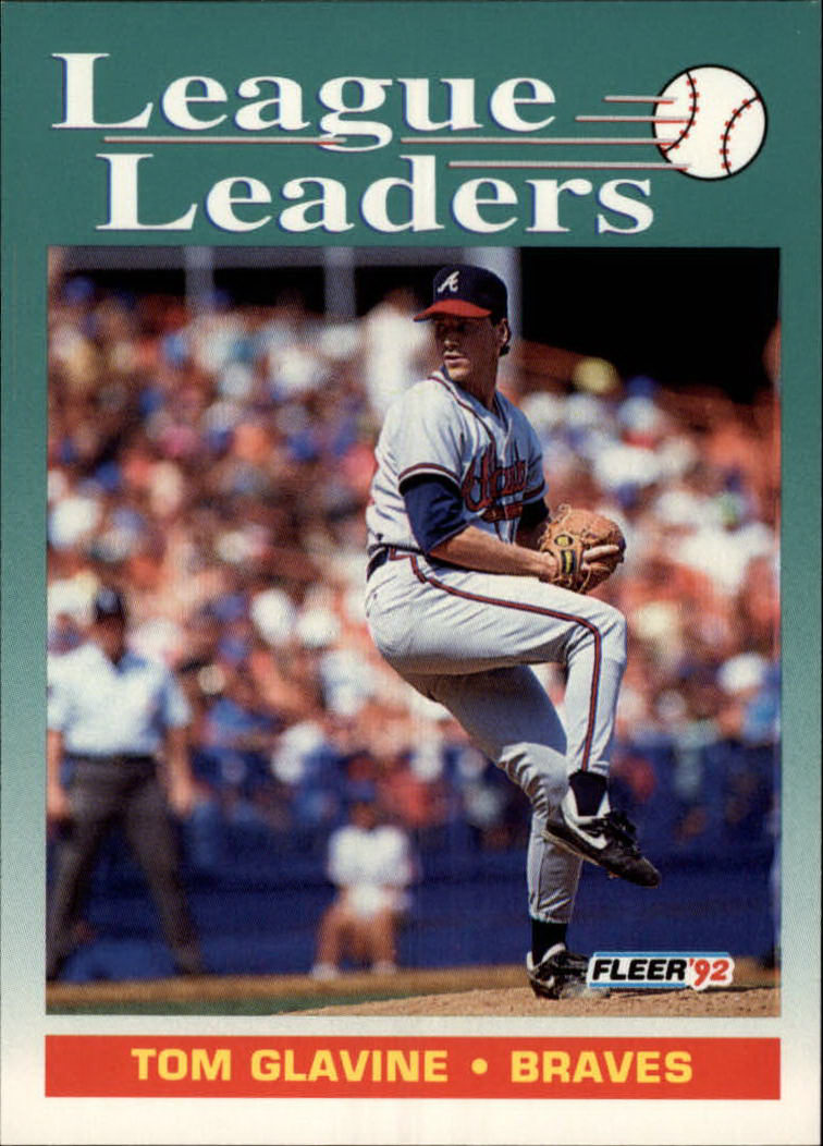 1992 Fleer #694 Tom Glavine LL