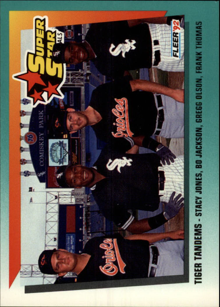 1992 Fleer #701 F.Thomas/Group