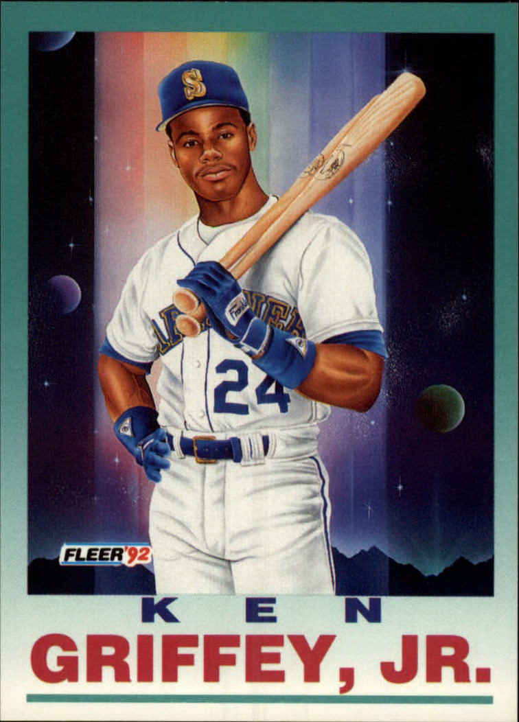 1992 Fleer #709 Ken Griffey Jr. PV