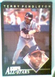1992 Fleer All-Stars #15 Terry Pendleton